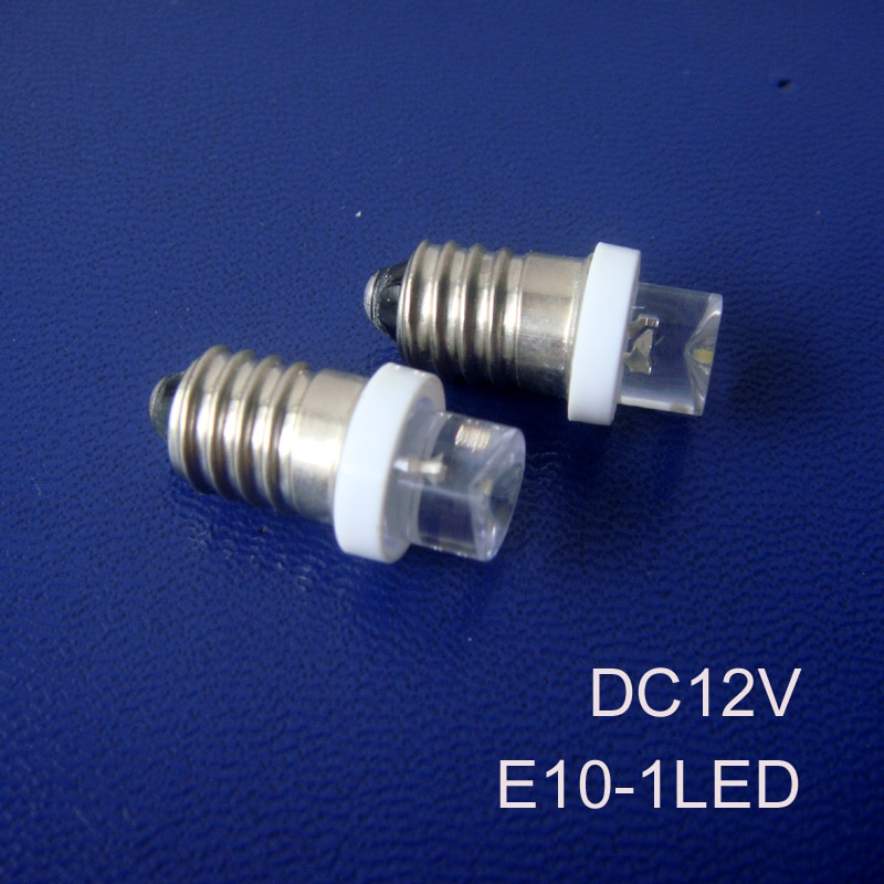 High quality 12V E10 led,E10 LED lamp 12V,E10 led light,E10 Bulb 12V,E10 Bulb DC12V,E10 12V,E10 LED 12V,free shipping 1000pc/lot