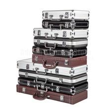 200/300/500 pièces capacité Poker jetons Case conteneur Poker jetons mallette boîte de rangement Poker jetons valise