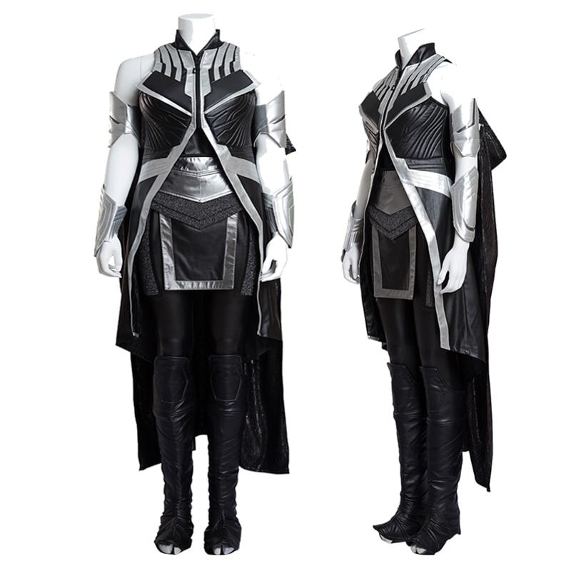 2016 versión exclusiva película COS x-men tormenta apocalíptica Ororo munoe Cosplay disfraz Halloween traje personalizado