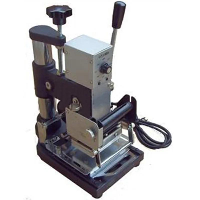 Machine d'estampage manuelle 220V/110V, Machine de bronzage pour carte PVC WTJ-90A