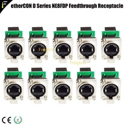 Сетевой разъем серии etherCON D, крепление на Панель RJ45, проходной разъем для Pro аудио-видео и освещения, сетевые приложения