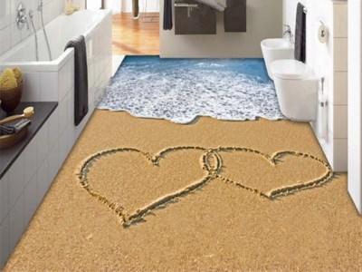 Alfombra deiterranean 200cm x 300cm Vertical con impresión 3D Felpudo de pasillo alfombra antideslizante alfombras de baño absorben el agua de la cocina