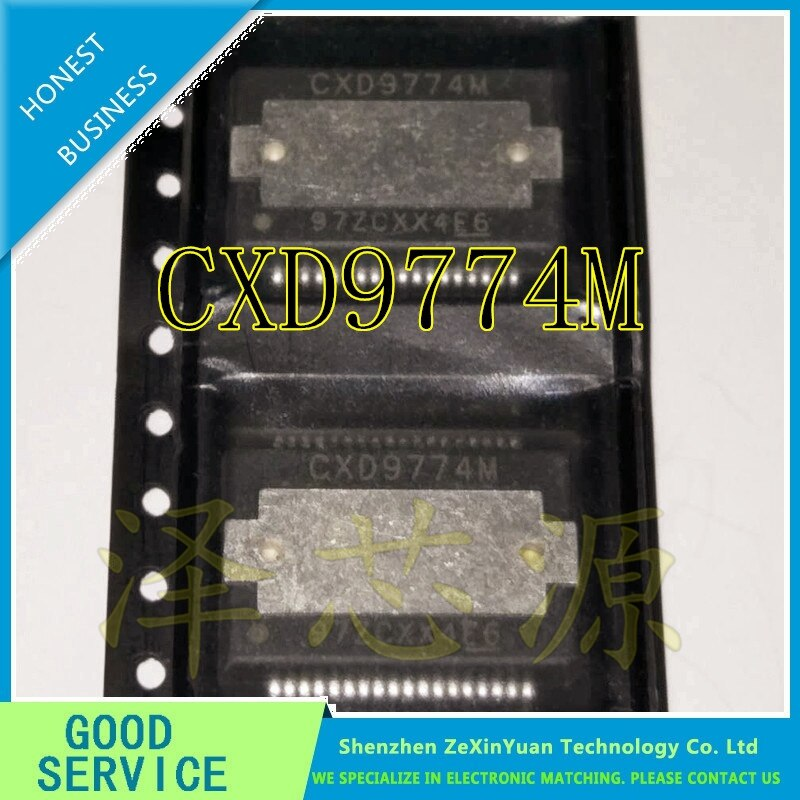 5 unids/lote CXD9774M CXD9774 de AUDIO 9774 HSSOP-36 amplificador de potencia CHIP