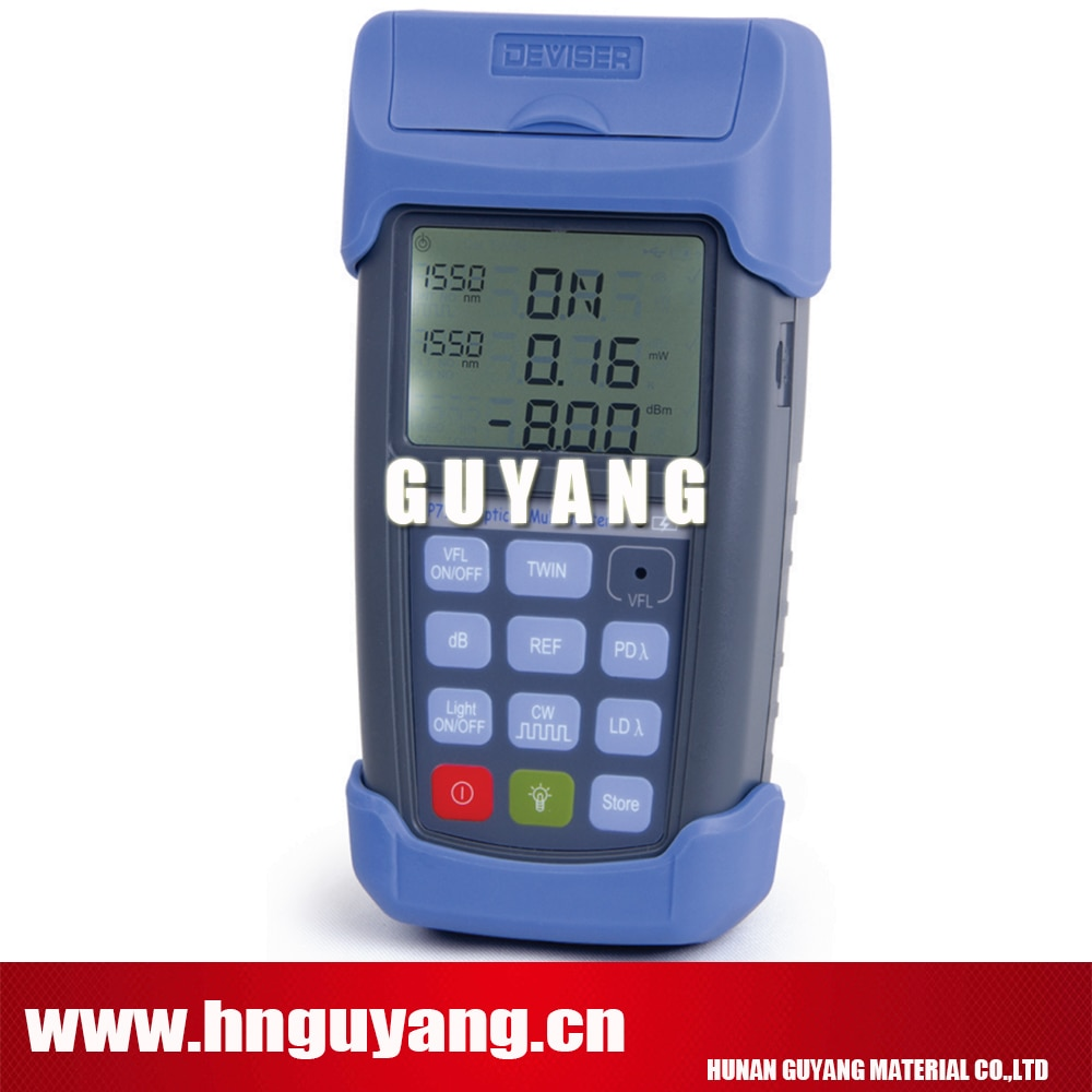 EP710B Most powerful optical multimeter built in light source, optical power meter, and VFL