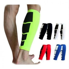 1 paire protège-tibia Football Football jambe de protection mollet Compression manches cyclisme course sport sécurité shinguard HBK102