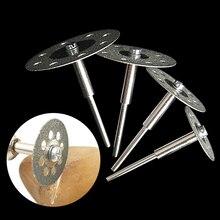 20/22/25mm meule diamantée 12/6 pièces mini scie circulaire disque de coupe diamant disque abrasif outil rotatif