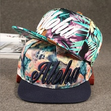 Flower Aloha Kids Adult Snapback Cartoon Embroidery Children Cotton Baseball Cap Boys Girl Snapback Caps Hip Hop Hats