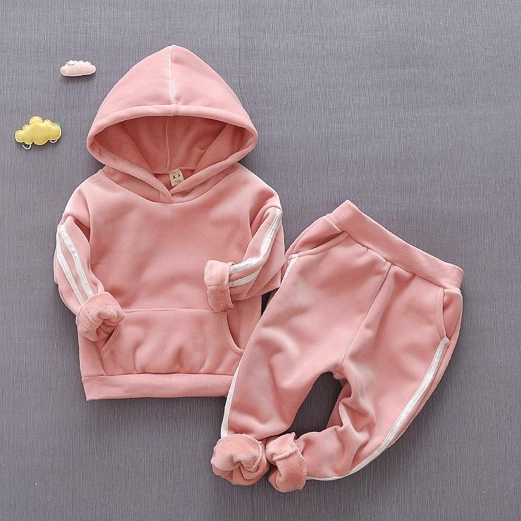 Crianças conjuntos de roupas para a menina criança roupas meninas conjunto de treino crianças terno esportivo roupas 3 ano hoodie 2 peça criança traje