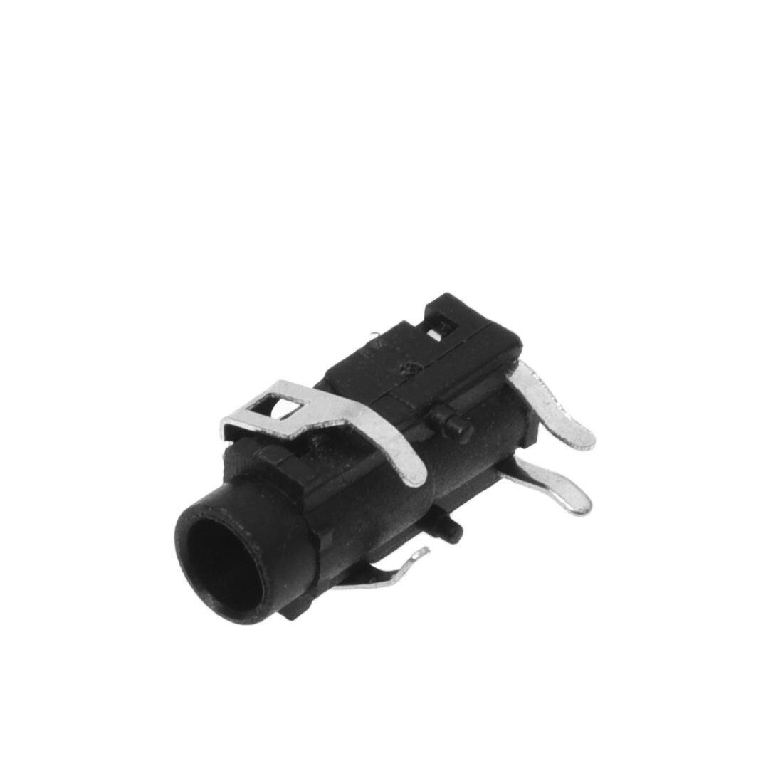 10 шт PCB панель крепление 4 Pin 1/8 &quot3 5 мм гнездо стерео разъем для наушников|3.5mm stereo
