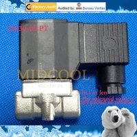 solenoide valvula 2s030 06 18 stainless steel air valve22 way direct acting normally closed series flow control gas valve