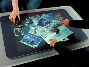 """¡En venta! Mejor Precio 19 """"película de papel de aluminio Multi-táctil a través de la ventana de la tienda de cristal para el quiosco táctil, etc."""