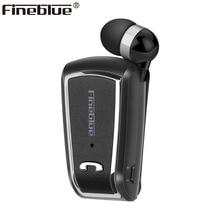 Fineblue F-V3 Wireless business Bluetooth Headset Sport Fahrer Auriculares Kopfhörer Teleskop Clip auf stereo earbuds mit Mic