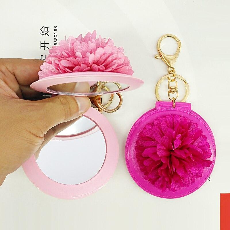 Ручная работа, цветочные брелки, мини зеркальные сумки, кулоны, модные брелки, сумочка, украшение, подарок друзьям, сувенир