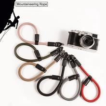 Handmade nylon Digital Camera Wrist Hand Strap Grip Paracord Braided Wristband for Fuji X100F X-T20 X-T2 X-E3 X-T10 X-H1 X-A2