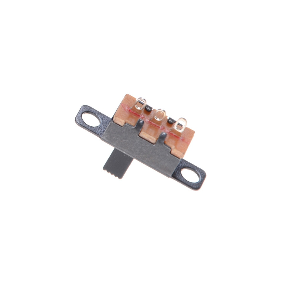 Interruptor deslizante de encendido y apagado 20 piezas SS12F15G5 SPDT de 3 pines y 2 posiciones, Interruptor deslizante de montaje PCB, nuevo producto, Interruptores deslizantes SPDT