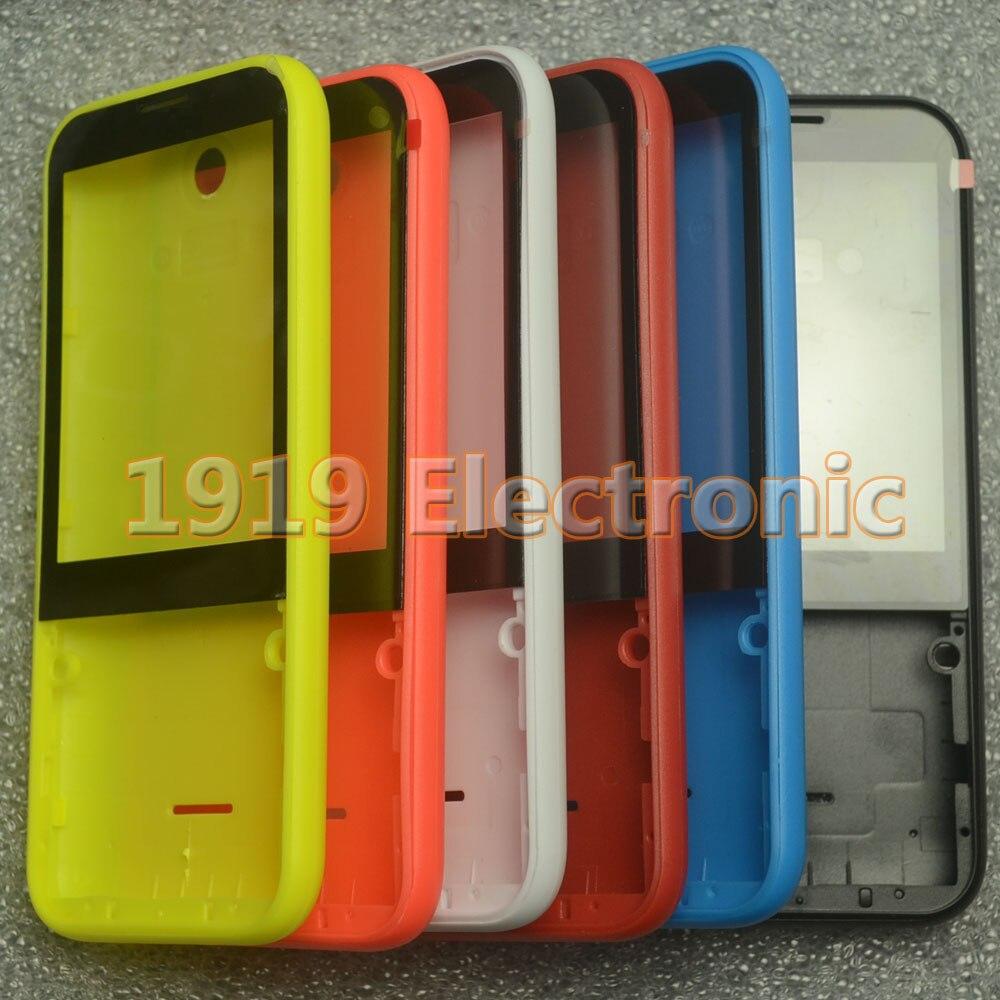 Novo caso da capa da caixa do telefone móvel sem teclado para nokia 225 n225 asha