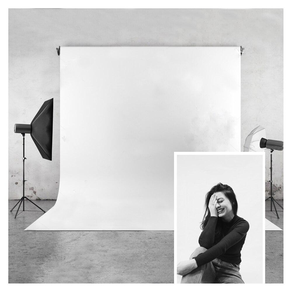 Fundo branco puro da foto huayi, vinil e poliéster, fotografia, backdrop para estúdio de fotos ou fotos privadas