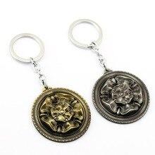 MS bijoux jeu de trône porte-clés maison Tyrell porte-clés pour cadeau Chaveiro voiture porte-clés hommes Souvenir