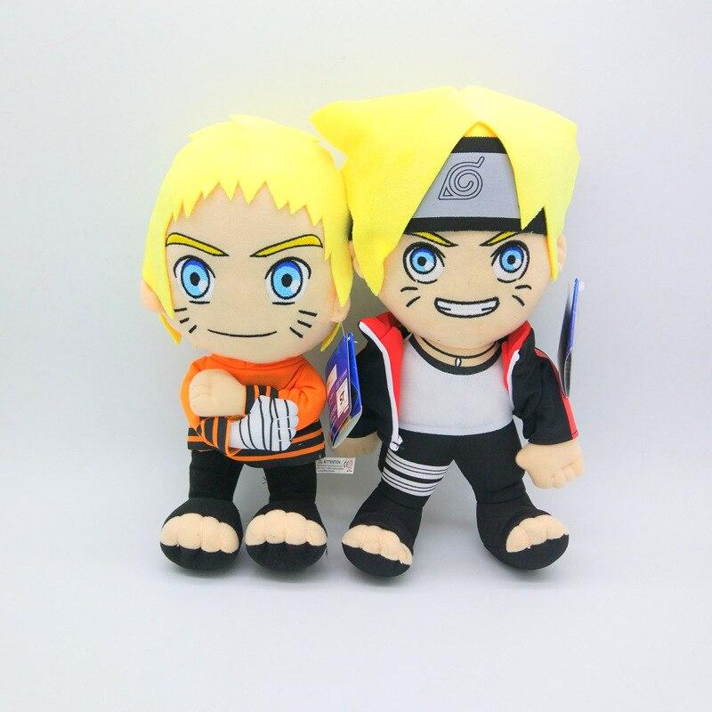 30cm Anime BORUTO muñecos de peluche de juguete Boruto Naruto colección de muñecos de dibujos animados regalo niños juguetes SA1746