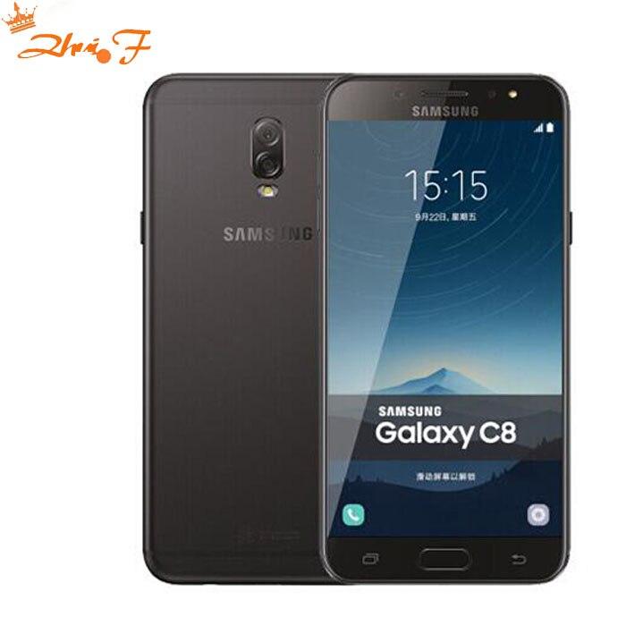 Samsung Galaxy C8 (SM-C7100) Super AMOLED FHD 4G RAM 64G ROM 16MP Front Camera dual sim Octa Core Lte 4G Mobile Phone