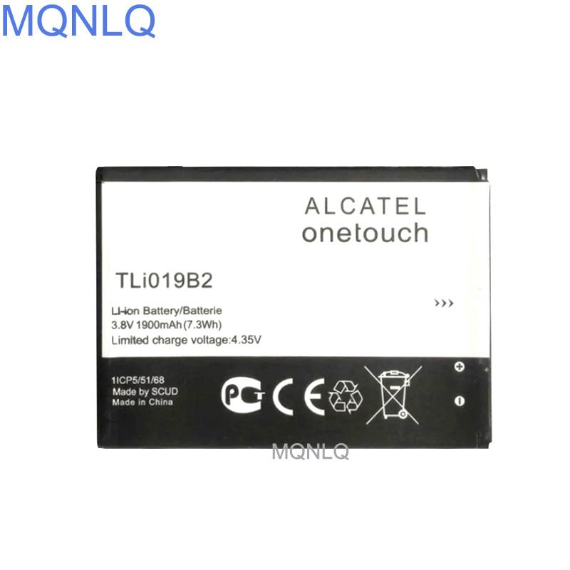 TLi019B2 batería para Alcatel One Touch Pop C7 7040D OT-7041 7041D Dual CAB1900003C2 para TCL batería MQNLQ