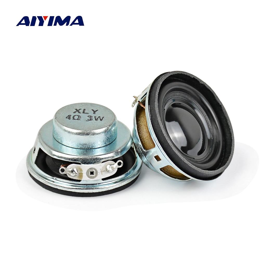 AIYIMA-altavoces portátiles de 1,5 pulgadas, Altavoz portátil de 4ohm, 3W, 13 núcleos,...