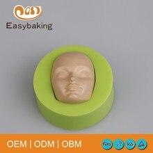 Baby Gezicht Silicone Mold Cake Chocolade Snoep Jelly Bakvorm Fondant Cake Decorating Gereedschap