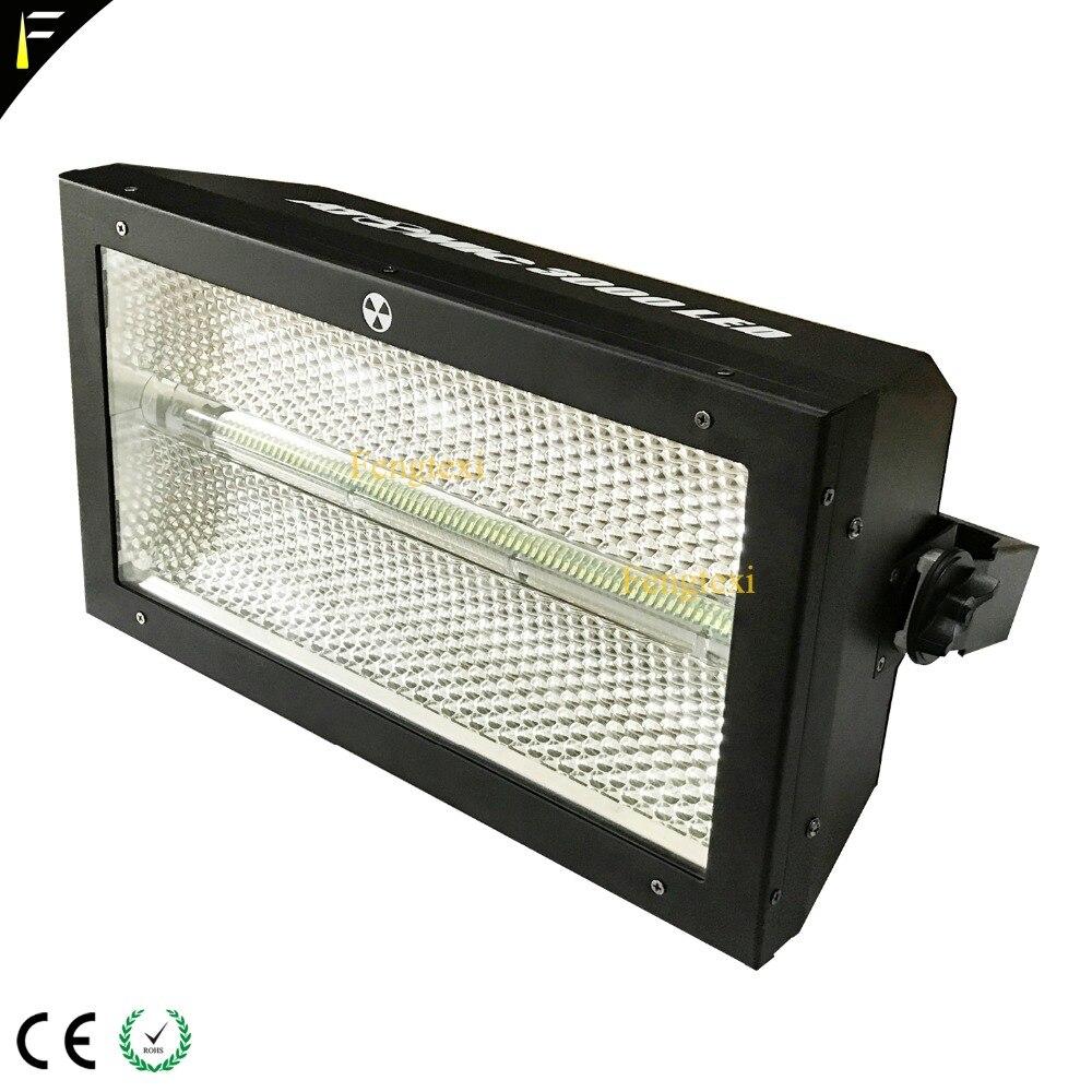 228x ضوء أبيض LED مع 64 * RGB LED ، 3000 Dj ستروب ضوء فلاش LED ، معدات حفلات المسرح