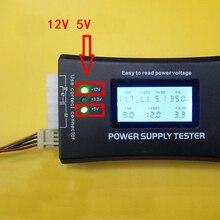 Gevoelige Digitale Lcd-scherm Pc Computer 20/24 Pin Voeding Tester Checker Power Meten Diagnostic Tester Gereedschap
