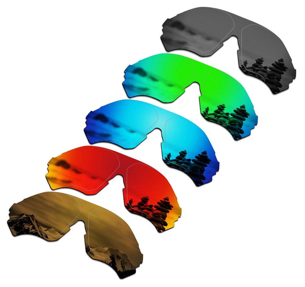 SmartVLT 5 قطع الاستقطاب النظارات الشمسية استبدال العدسات ل أوكلي EVZero المدى-5 ألوان