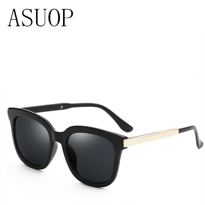 ASUOP novas senhoras da moda óculos de sol clássico design da marca high-end dos homens quadrados óculos de sol UV400 grande armação de óculos populares