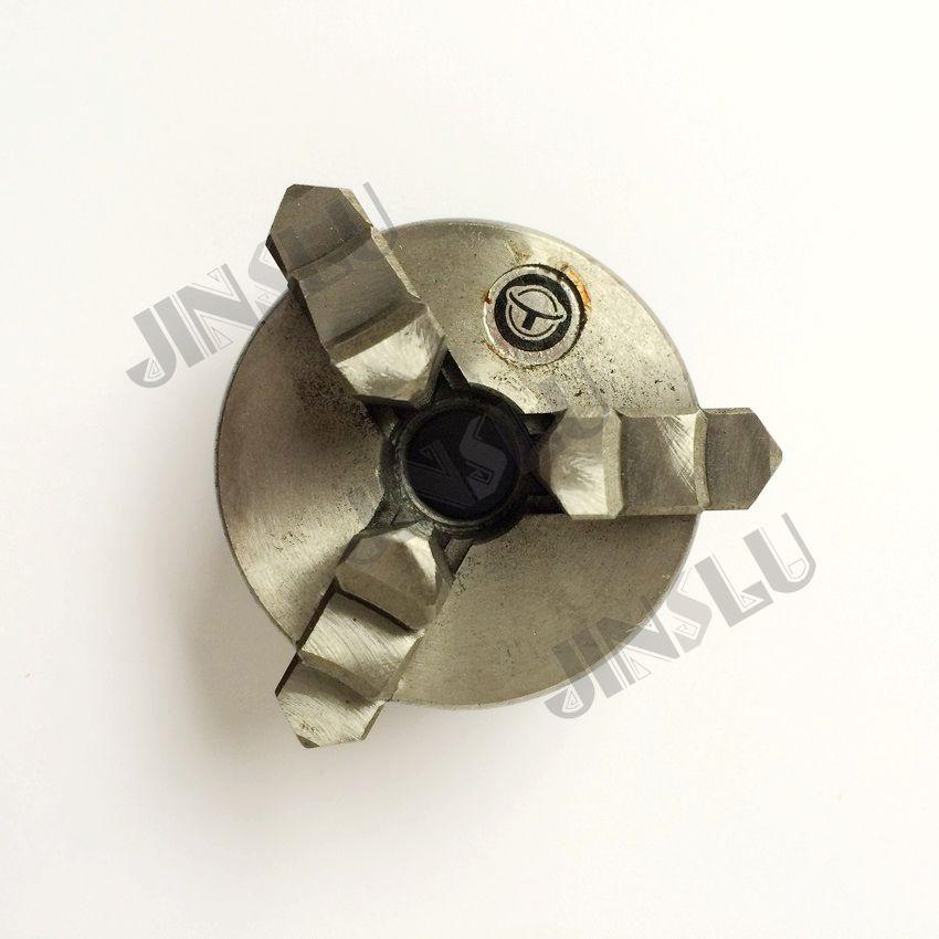 Free shipping Three jaw chuck K01-50 small hand chuck  pocket type chuck   M14*1 thread