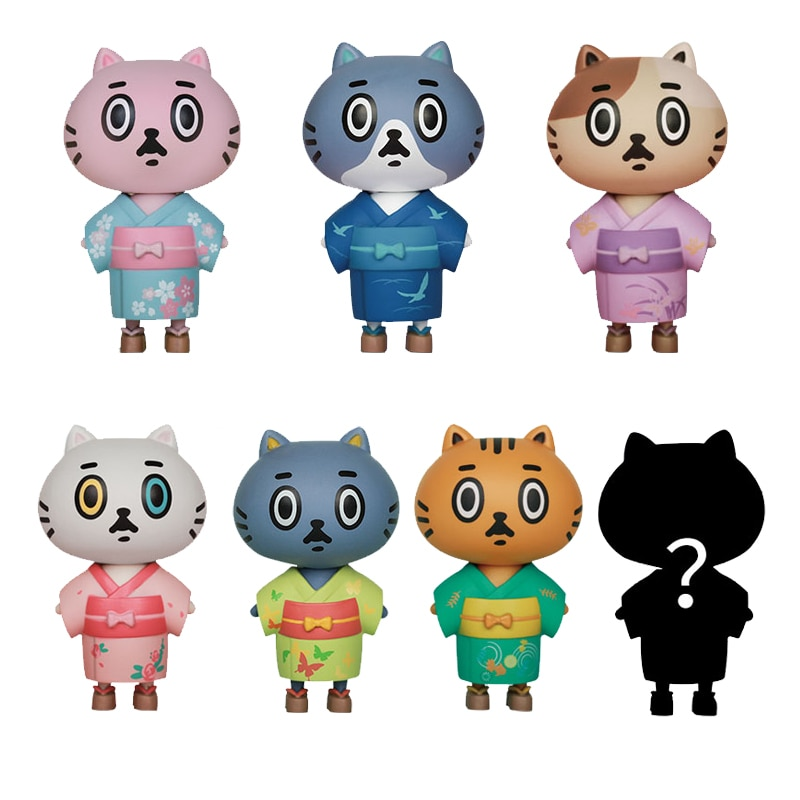 CANDYBOX Kimono series Cute cat fashion toys Garage Kit Ornament