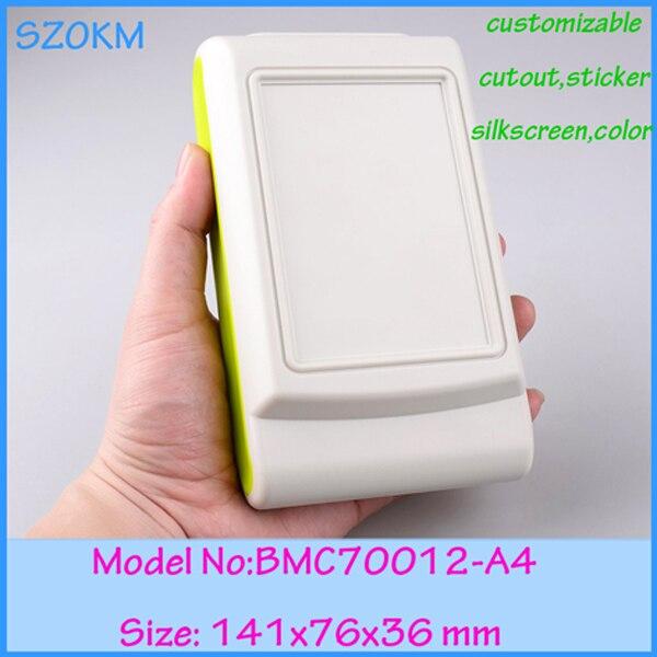 8 unids/lote envío gratis carcasas de plástico abs para control remoto de carcasas de abs material de control manual shell 141x76x36mm