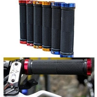 1 pair High quality Bike Grips Handlebar Ergonomic Rubber Anti-slip Handle Bike Grips Cycling handle bar end 5 Colors