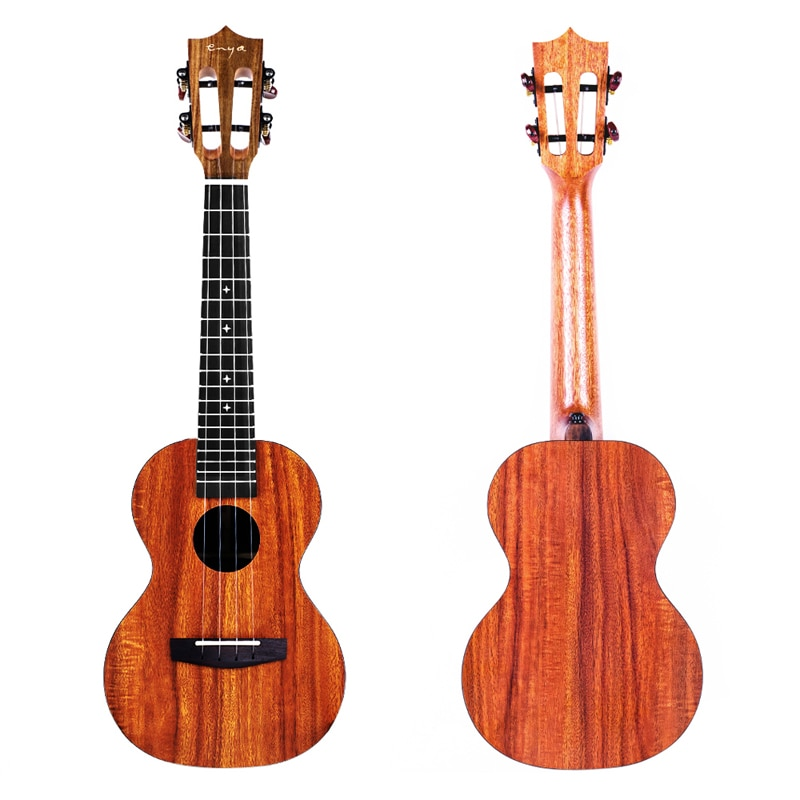 Enya Ukulele Concert Tenor Ukelele HPL Beginner String Instruments Hawaii Mini Guitar with Pickup Bag Strap Strings Tuner Capo enlarge