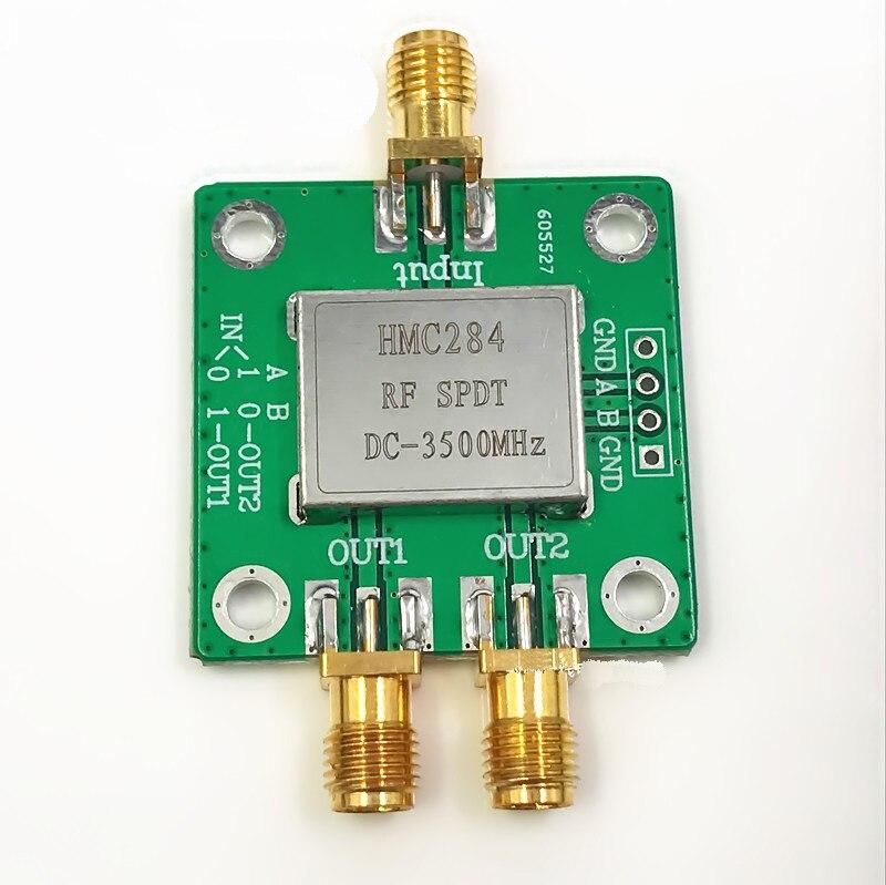DC-3500MHZ HMC284 RF interruptor de doble poste SPDT es monopolo doble lanzamiento para FPV Dron de carreras de control remoto partes