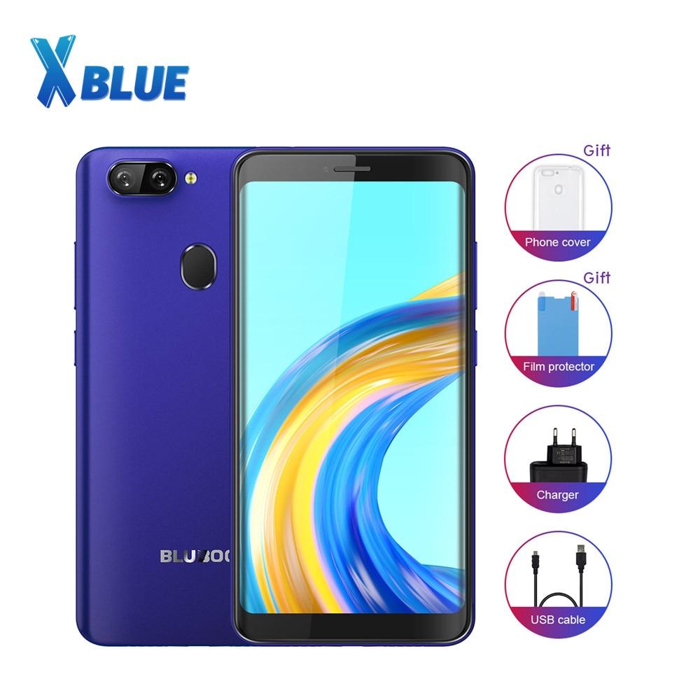 Bluboo D6 pro 4G LTE Android 8,1 5,5 дюймов MTK6739V четырехъядерный 1,5 ГГц сканер отпечатка пальца 2 Гб ОЗУ 16 Гб ПЗУ две SIM-карты 2700 мАч