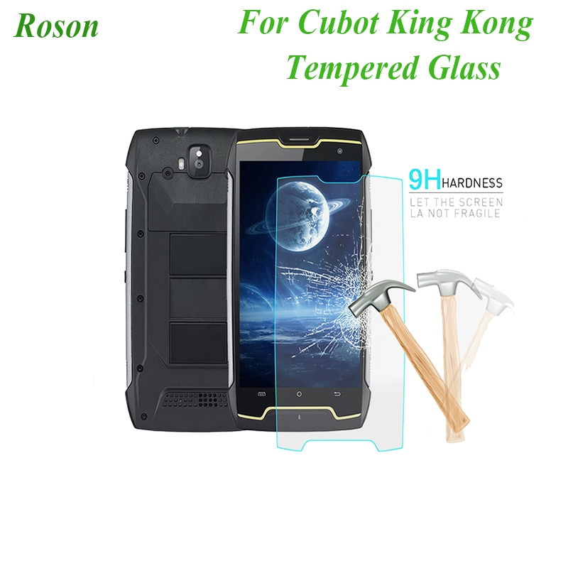 Roson para Cubot KingKong, película de acero templado, vidrio frontal Protector de repuesto para Cubot KingKong, Protector de pantalla móvil