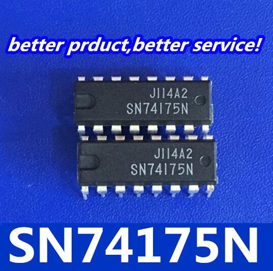 20 unids/lote SN74175N SN74175 HD74175P circuito integrado IC chips