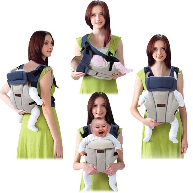 Portabebés de 2 a 30 meses, transpirable y ergonómico, portabebés delantero, portabebés, mochila infantil, canguro, bolsa de urdimbre, asiento de cadera