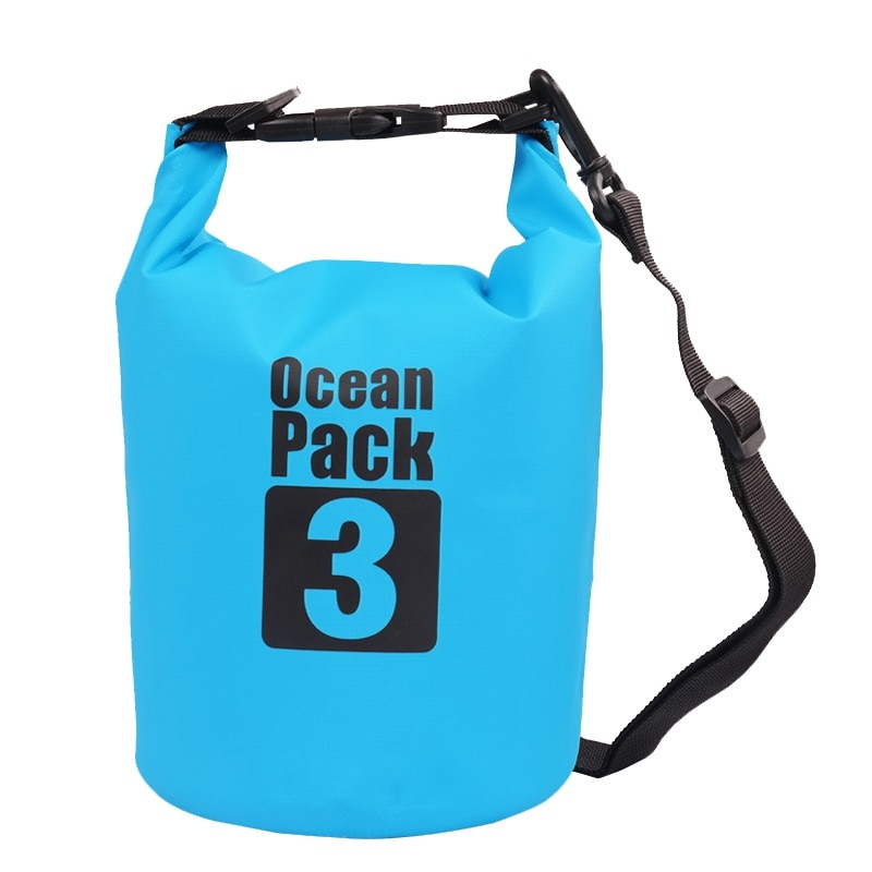 Новый Водонепроницаемый сухой мешок открытый пляж ПВХ с пряжкой плавающий мешок для хранения путешествия гребли рафтинг сумки аксессуары ...