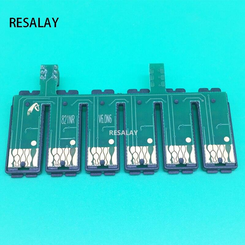 82N T0821N-T0826N restablecer CISS Combo Chip para Epson T50 T59 RX615 R270 R290 TX700 TX800 TX710W TX650 TX810FW TX820FWD