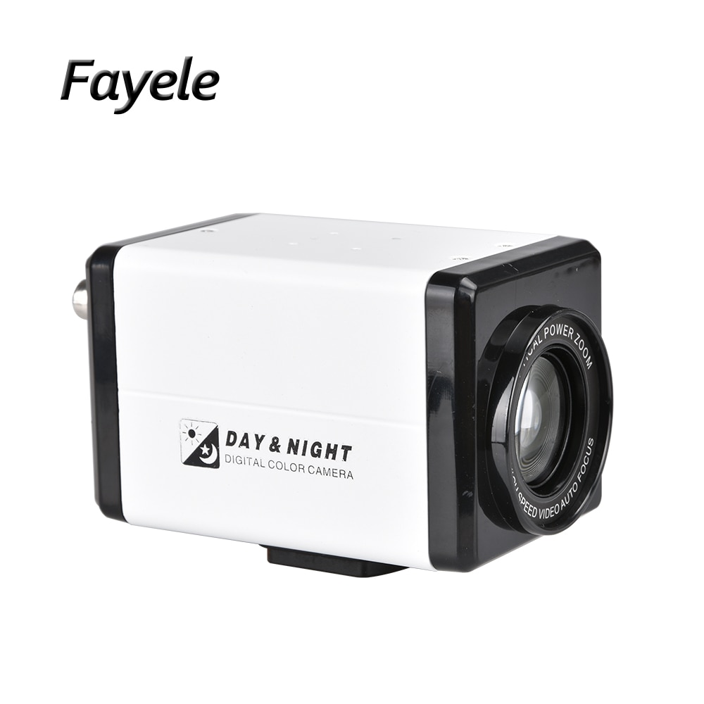 CCTV الأمن داخلي AHD 1080P صندوق كاميرا 30X التكبير RS485 4in1 TVI CVI CVBS التناظرية 1200TVL اللون كاميرا فيديو مراقبة