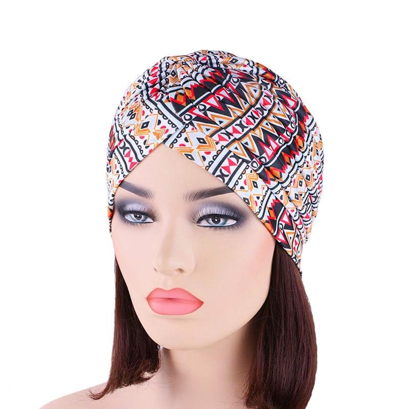 New Fashion Women Pleated Turban Headwrap Headwear