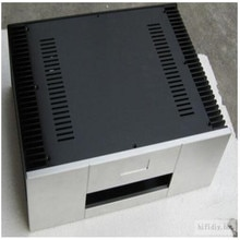 Gaowen الجبهة لوحة جميع الألومنيوم مكبر للصوت الشاسيه/الفئة (أ حالة/Amp ضميمة/حالة/DIY مربع (430*150*313 ملليمتر)