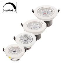 Nouveau 9 12 15 21 W bonne qualité prix le plus bas dimmable led downlight lampe déclairage AC110V 240 V led armoire lumière 20 pcs/lot lumières