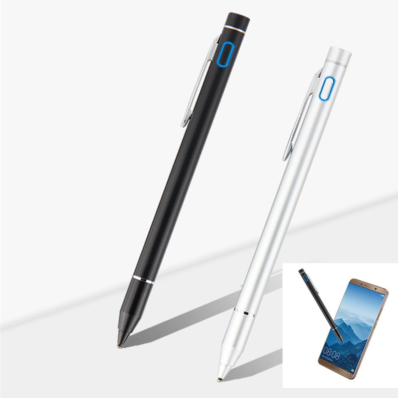 Caneta de toque ativo tela capacitiva lápis para samsung galaxy tab a 10.5 2018 SM-T590 t595 t597 s4 10.5 t830 t835 tablet stylus