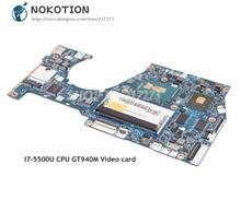 NOKOTION Lenovo Yoga 3 14 Için Laptop Anakart BTUU1 NM-A381 ANA KURULU I7-5500 CPU DDR3L 940 M 2 GB Video kart