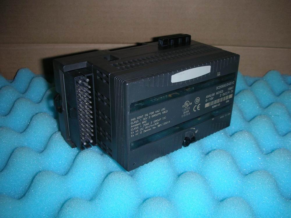 1 unidad usada fancu IC200ALG431 GE